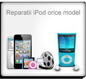 Reparatii iPod orice model