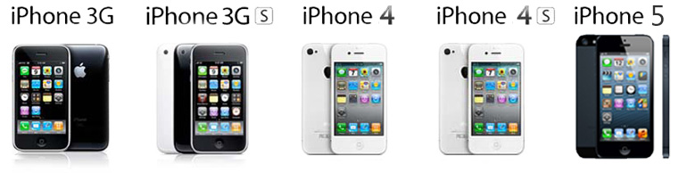 Reparatii iPhone 3G 3Gs 4 4S 5
